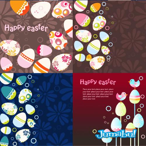 huevos-de-pascuas-vectores