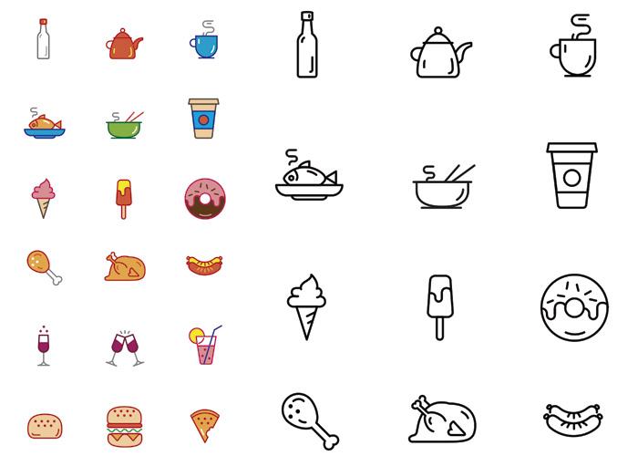 iconos-alimentos
