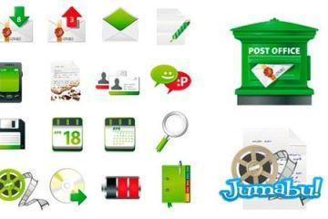 iconos correo postal - Iconos de Correo Postal en Vectores