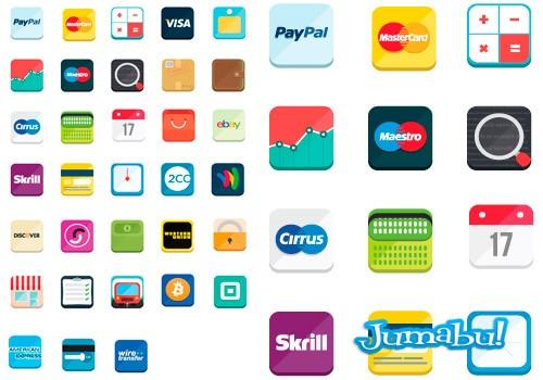 iconos-de-pago-vectores