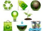 reciclaje-planeta-agua-icons