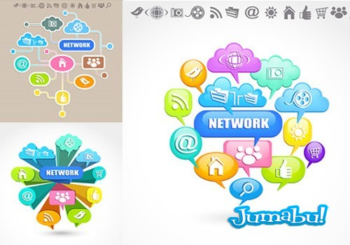 iconos-nube-redes-coloridos