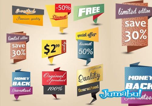 inserts-elementos-tags-precios-ofertas-en-vectores