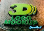 logo 3d mockup psd - Tu Marca en 3D con Mock Up en Photoshop
