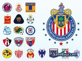 logos futbol mexico - Escudos del Fútbol Mexicano en Vectores