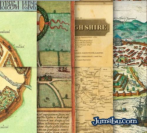 mapas-viejos-colores-retro