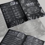 menu psd gratuito - Menú en Photoshop para descargar gratis