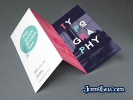 mock up folleto desplegable - Plantilla de Folleto en Tres Partes para Editar con Photoshop