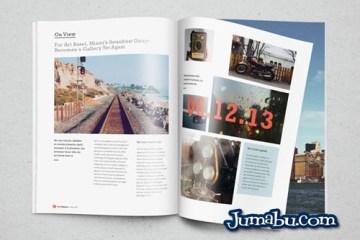 mock up revista 3D - Mock up de Revista en Photoshop Fotorrealista