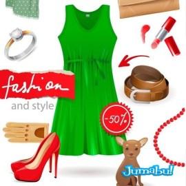 elementos-mujer-moda-vectorizado