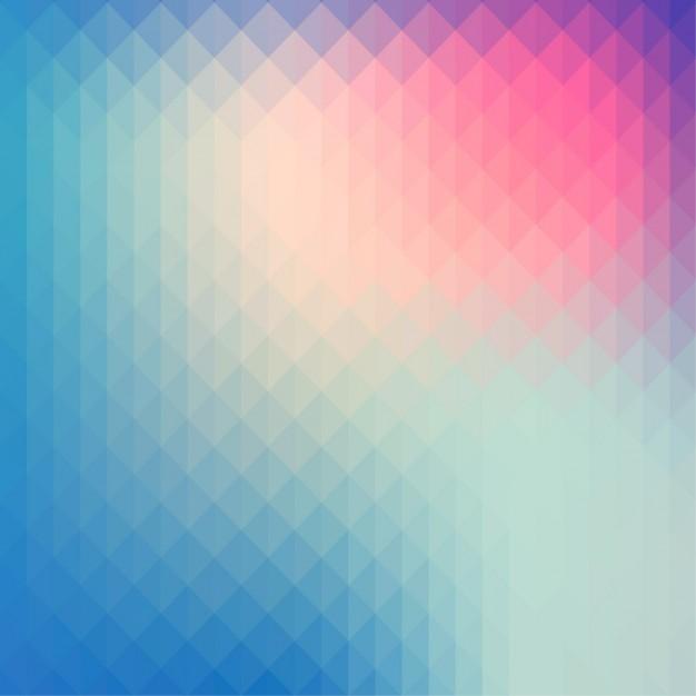 multicolor polygonal background 1091 42 - Fondos tornasolados en vectores para descargar