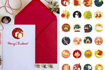 navidad iconosvectorizados - Iconos Navideños en Vectores y PSD