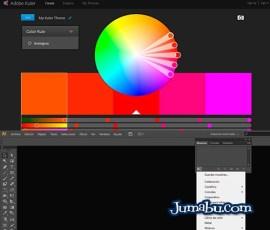 paletas de colores illustrator adobe - Cómo Cargar Paletas de Color en Illustrator CS6