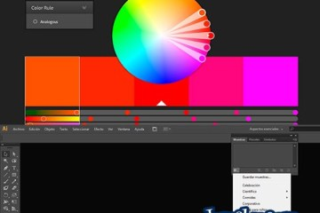paletas de colores illustrator adobe - Cómo Cargar Paletas de Color en Illustrator CS6