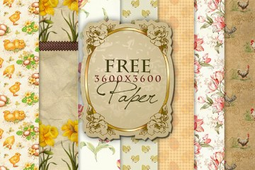 papeles retro para descargar gratis - Fondos de papeles antiguos o vintage
