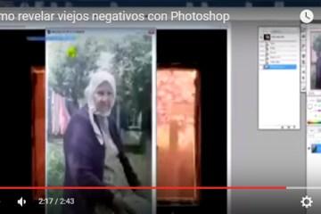 pasar negativos photoshop - Cómo Revelar Viejos Negativos con Photoshop
