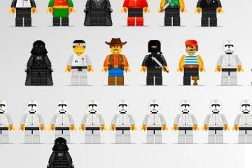 personajes pixel art lego - Personajes de Película dibujados como Lego
