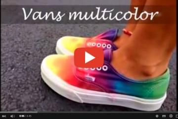 pintar zapatillas tutoriales - Personaliza tus Zapatillas con los Colores Especiales