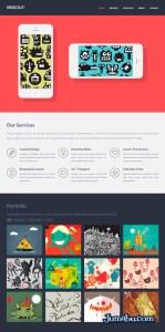 plantilla para websites html - Plantilla Web Gratuita HTML + CSS + PSD