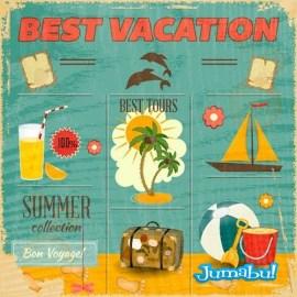 vectoriales-vacaciones-reposera-palmera-barcos-tragos