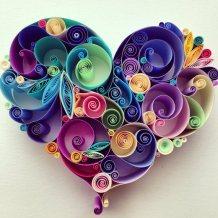 quilling-paper-corazon