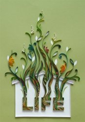 quilling paper house - Arte con Papel - Quilling Paper