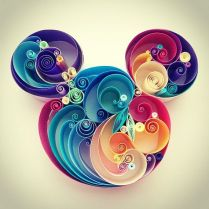 quilling paper mickey - Arte con Papel - Quilling Paper