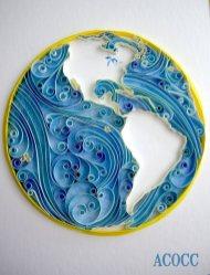 quilling paper mundo - Arte con Papel - Quilling Paper