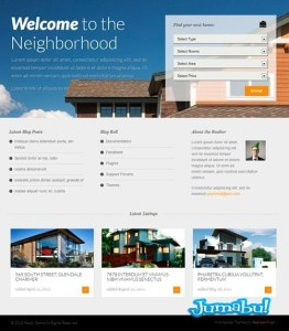 realty thme wordpress - Realty Theme para Wordpress