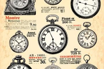 relojes antiguos vectorizados - Relojes Antiguos en Vectores