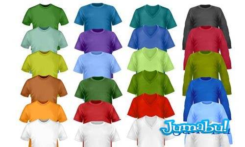 playeras-camisetas-mangas-escote-colores