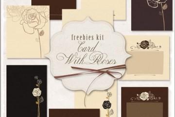 rosas amor invitaciones romanticas - Tarjetas de Amor con Rosas Dibujadas