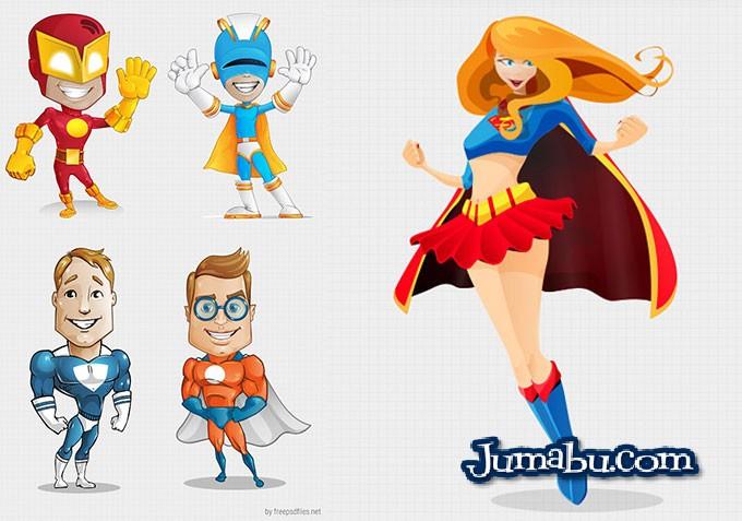 super-heros-vectores-gratis