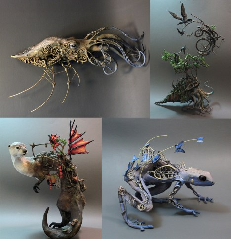 surrealist-sculptures
