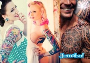 tattoo dibujados colores varios hombre mujeres - Modelos de Tatuajes en Mujeres y Hombres