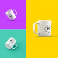 Tazas de café para poner tu logo con photoshop