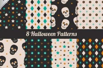 texturas halloween vector - Texturas en Vectores Gratis para Halloween