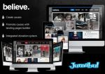 theme wordpress believe - Theme Wordpress Believe Negro