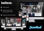 theme wordpress believe - Theme Wordpress Believe Negro
