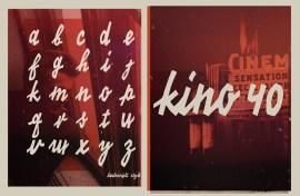 tipografia de pelicula gratis - Tipografía de Posters de Películas Antiguas para Descargar Gratis