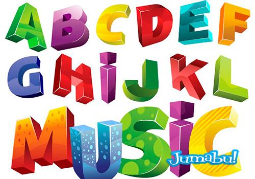 tipografias-coloridas-letras-colores-vectores