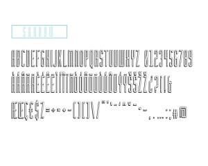 tipografica con sombras - Tipografía Geométrica con Sombra Incorporada