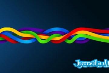 trenzas coloridas psd - Trenzas Coloridas Vectoriales