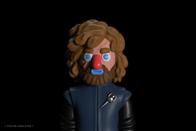 tyrion lannister 3d 1024x683 - Conoce los personajes de Games of Thrones en 3D (Fan Art)