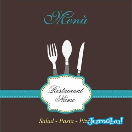 vectores cuchara tenedor cuchillo - Vectores para Logo o Menú de Restaurante