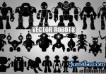 vectores robots vectorizados - Robots Vectorizados para Descargar