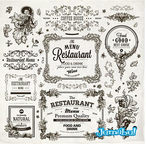 vintage-restaurante-ornamentos-arabescos