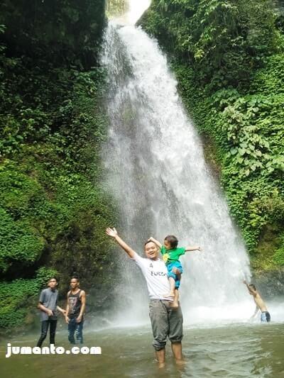 Foto Keindahan Air Terjun Talang Ogan