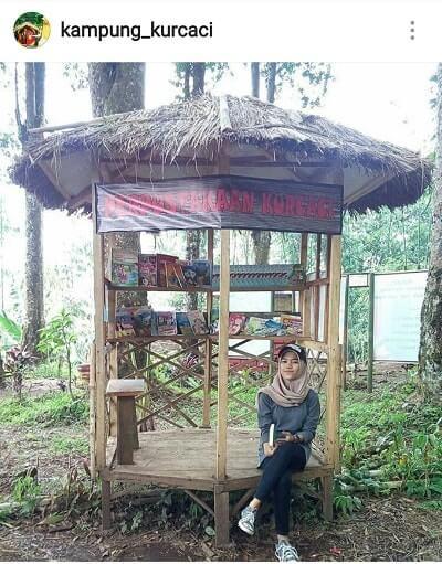 perpustakaan kampung kurcaci