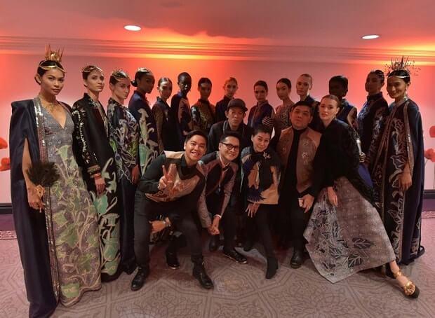 batik indonesia di fashion week new york